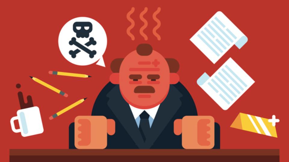 怒り狂う上司や同僚への適切な対処法