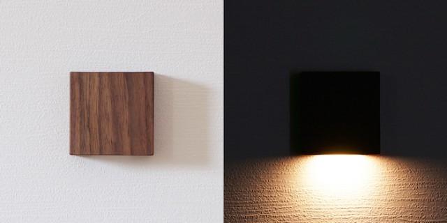 コンセント要らずでどこでも設置。6.5cmの木製常夜灯「CALM」