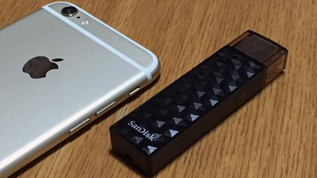 ワイヤレスでiPhoneの容量不足を解消!『SanDisk Connect Wireless Stick』