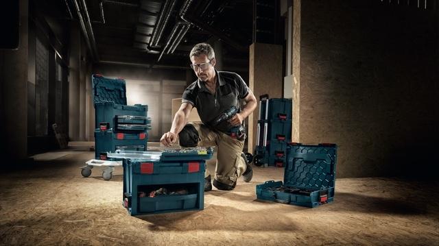 超機能性重視で使い方は無限大、ドイツ製収納ボックス「BOSCH L-BOXX」