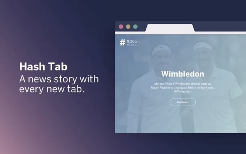 Google Chromeの新規タブでいま話題のニュースが確認できる拡張機能「Hash Tab」