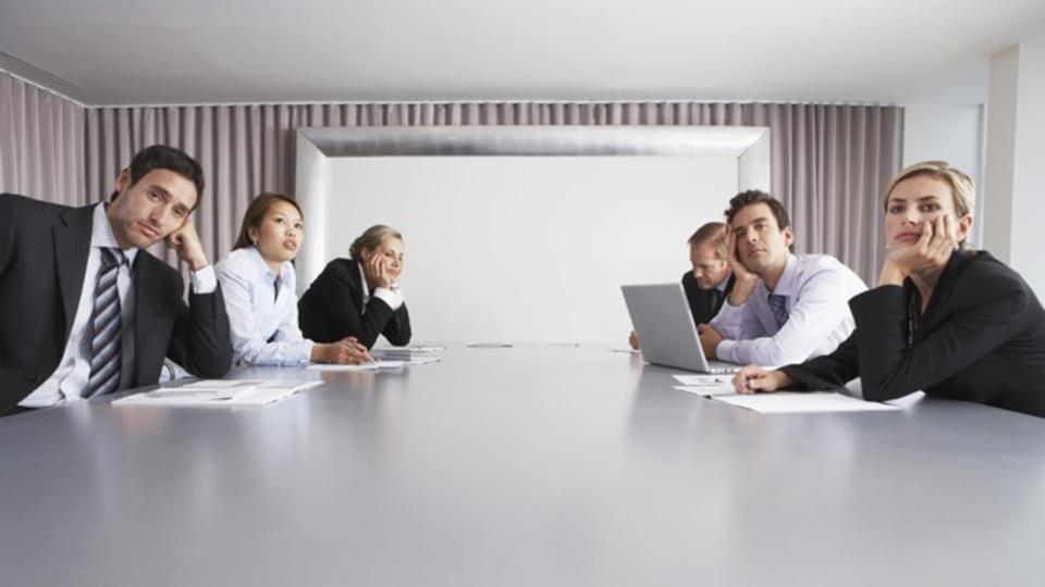 どんな会議もダメにする3つの方法