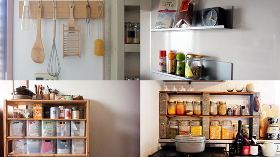 キッチンの生活感を払拭する「見せるキッチン収納」のテクニック6選