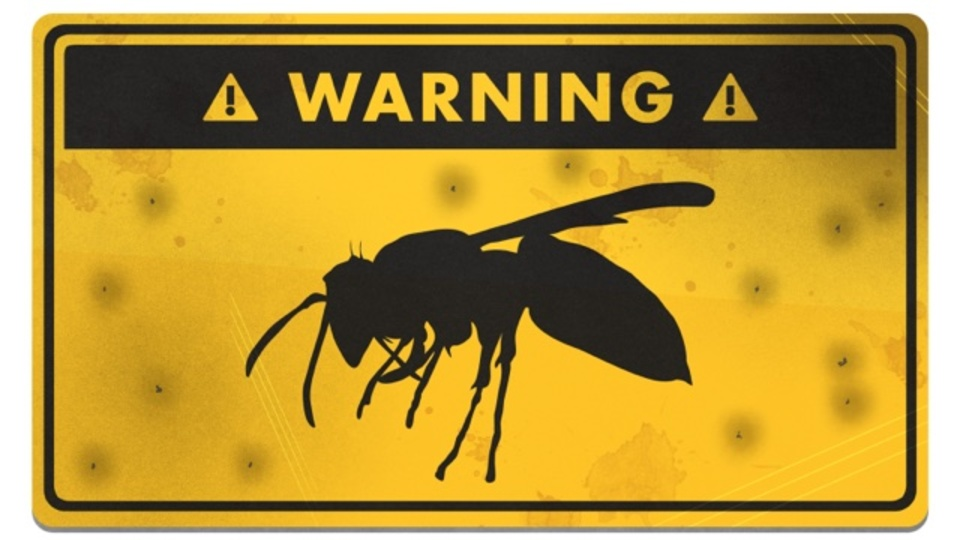 ハチに襲われたときに生き延びる方法