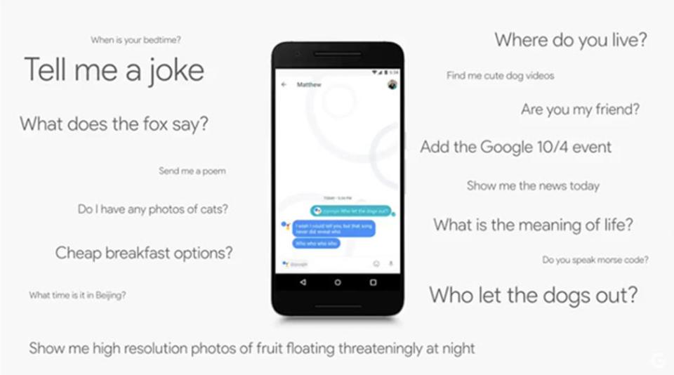 Googleは新しいスマートフォンPixelに、AI主導のアシスタントが搭載