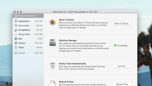 macOS Sierraの新しいストレージ管理ツールで「散らかったハードディスクを整理」しよう