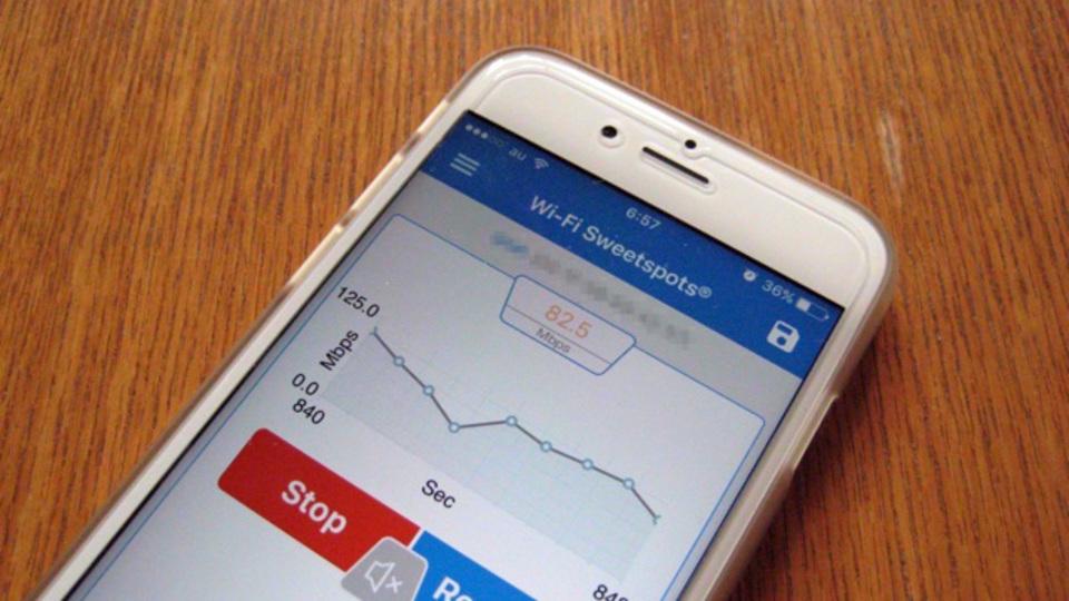 Wi-Fiの電波状況を調べるiPhoneアプリ『Wi-Fi SweetSpots』