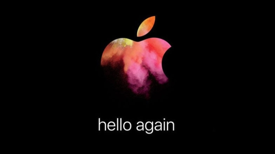 Appleのスペシャルイベント「hello again」が、10月27日(日本時間28日午前2時)