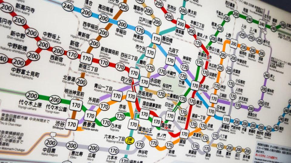 日本のすべての鉄道マップを収めたアプリ