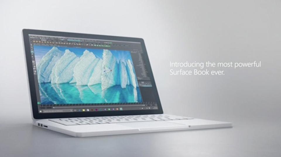 Microsoftの新しい「Surface Book」、来月から発売