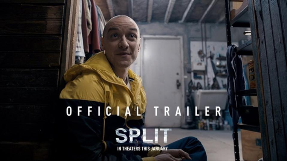 【予告編第2弾公開】ジェームズ・マカヴォイが23の多重人格者を演じるスリラー映画「スプリット」