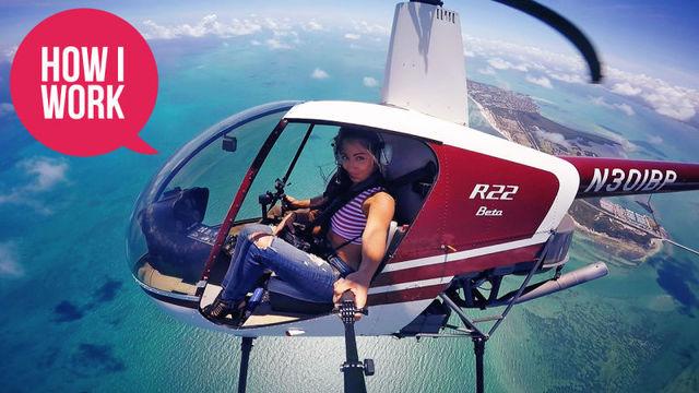 扉の無い航空写真用ヘリには、ミニマルの機材で乗り込むべし:人気写真家ナタリー・アムロッシさんの仕事術