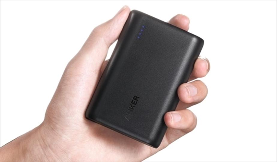 Ankerから、世界最小&最軽量な上にQuick Charge 3.0対応の10000mAhモバイルバッテリーが発売開始