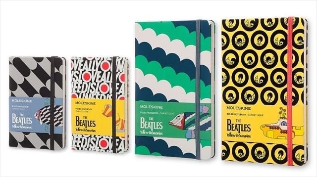 ジャケ買いすべきノートはサイケ!限定版モレスキンノートのBEATLESシリーズ