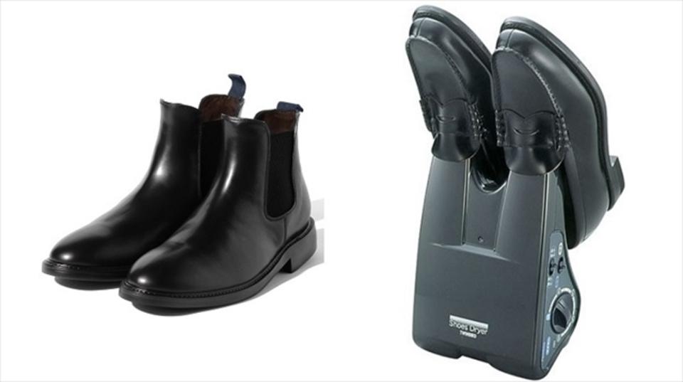 秋冬の雨対策は足元から「カラッとおしゃれに」ブーツ&ドライグッズ