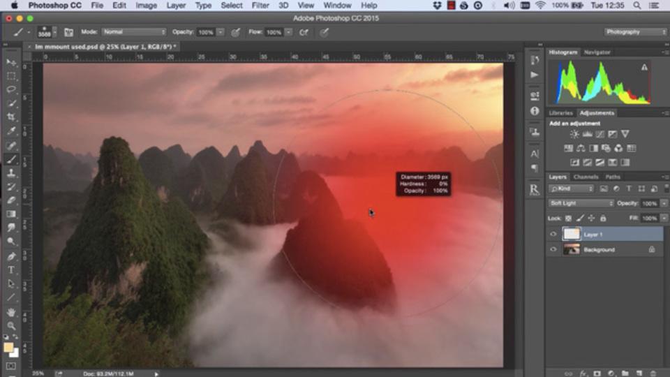 写真に自然な明るさを足すPhotoshopの「ライト・ブリーディング」テクニック