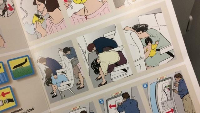 飛行機事故のとき「不時着時の姿勢」はどれくらい有効なのか