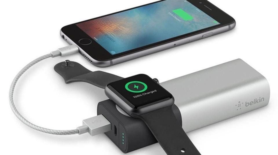 Apple Watch対応のモバイルバッテリーが登場!