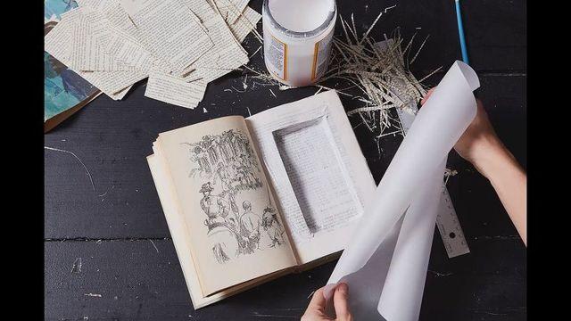 大事なものを隠しておく「秘密の本」の作り方