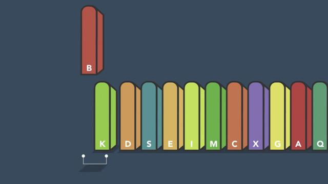 バラバラの本を最速で五十音順に並べ替える方法「クイック・ソート」