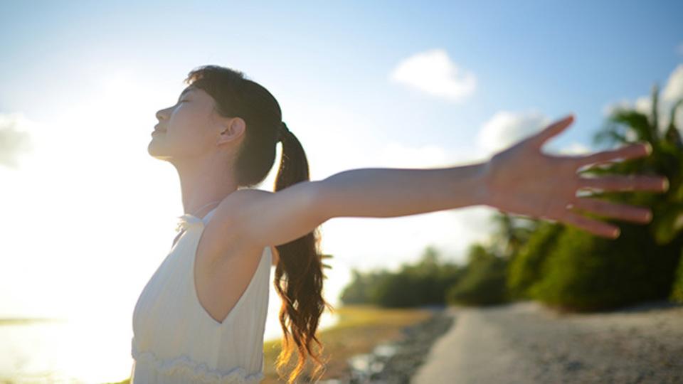 眠気を飛ばすための30秒の呼吸法