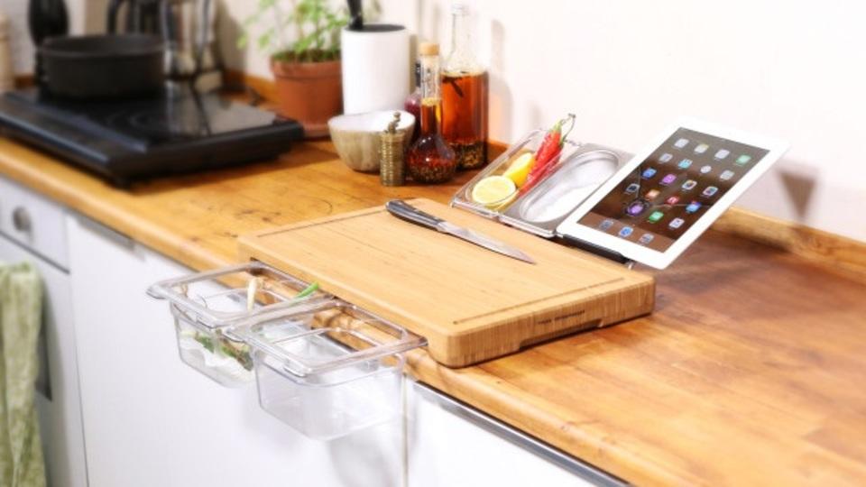 まな板1枚にキッチンの機能を凝縮した「多機能型まな板」【2017年注目のライフハックツール】