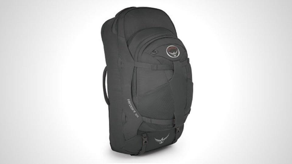 身軽に旅したい人に最適のバックパック「Osprey Farpoint 55」
