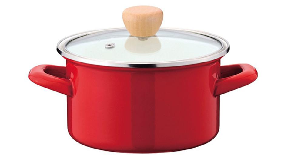 一人暮らしに最適。そのまま保管容器として使える小ぶりな鍋【今日のライフハックツール】