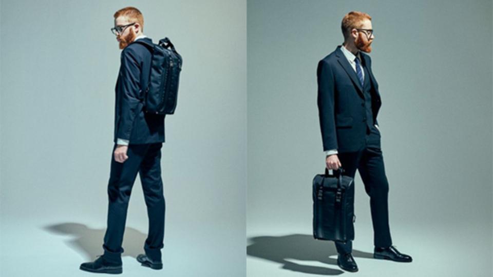 ブリーフケースでもありバックパックでもある。完成度の高いビジネスバッグ【今日のライフハックツール】