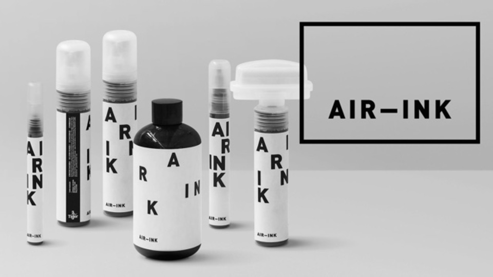 大気汚染をインクに変える。ビール会社が発案した「黒いイノベーション」