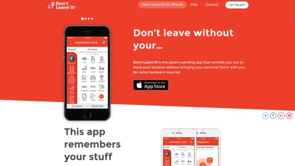 忘れ物防止に便利、指定した歩数だけ動いたらアラートを鳴らしてくれるアプリ「Don't Leave It!」