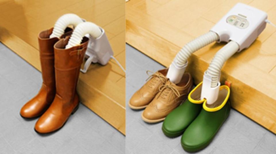 臭いや蒸れを防ぐ。びしょ濡れの靴を乾かす「靴専用」脱臭・乾燥機