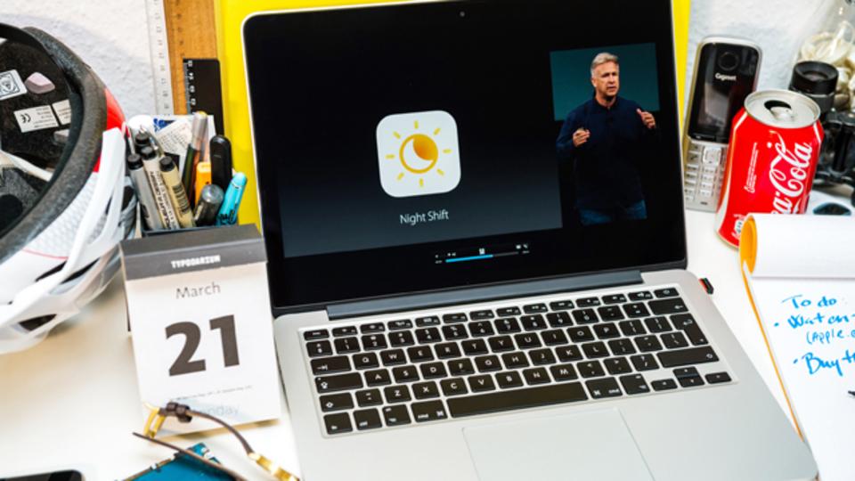iPhoneの「Night Shift」、Macにも採用か?
