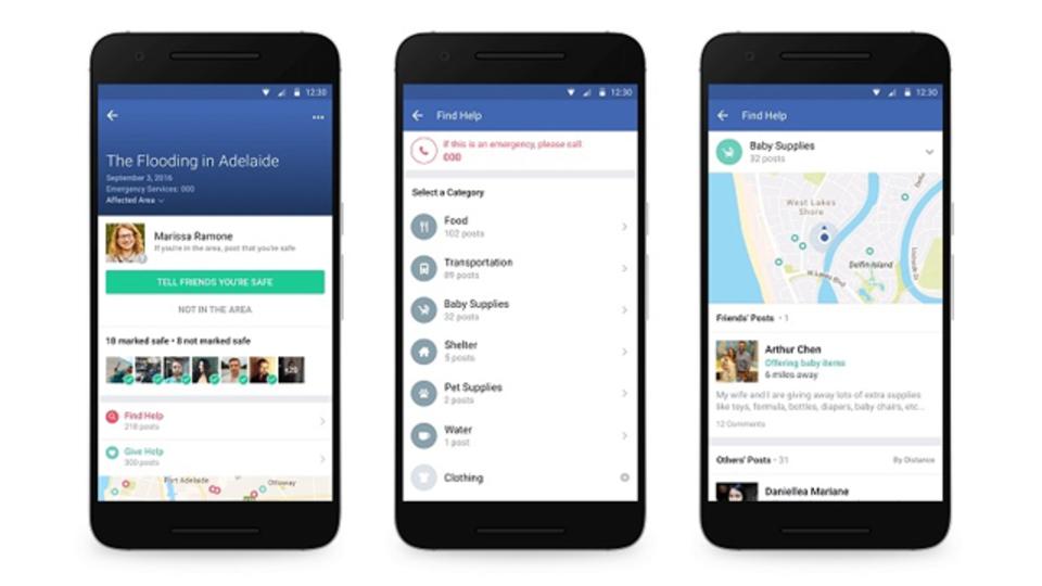 災害発生時に助かる! Facebookに「コミュニティヘルプ」機能が追加される