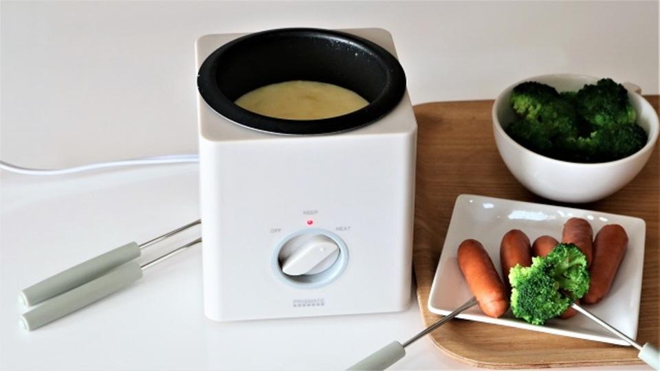 チョコもチーズもフォンデュするなら電気式の鍋が便利【今日のライフハックツール】
