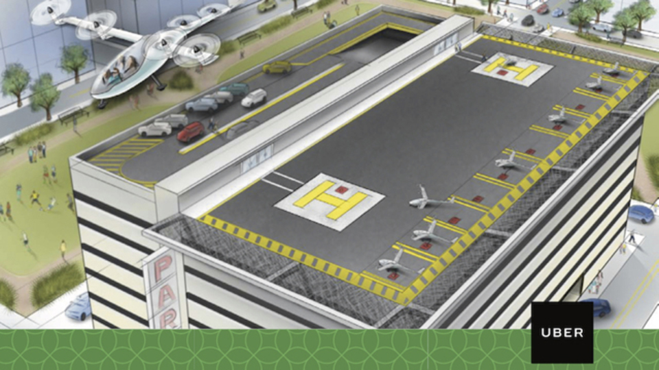 Uberの空飛ぶタクシープロジェクト、NASAの研究委員も参加!