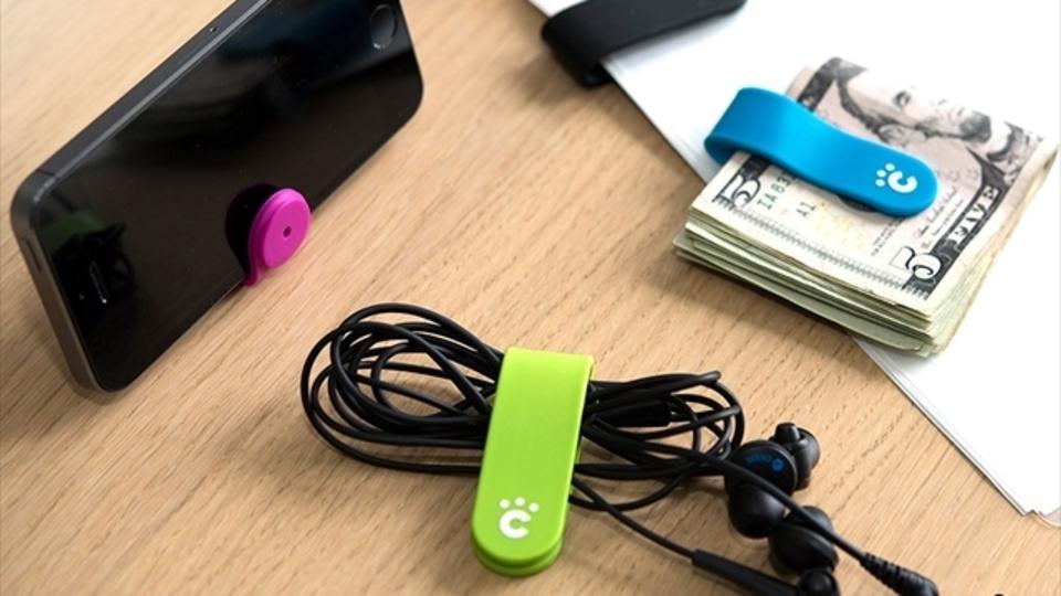 小物の整理にうってつけ。バッテリーメーカーが生み出した万能クリップ「cheero CLIP」