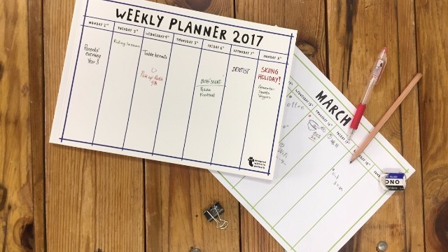 フライングタイガーのカレンダーで、仕事を可視化する方法