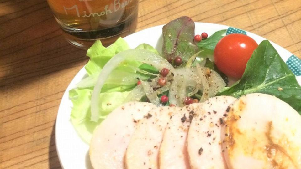 簡単すぎて作り置きしたくなる「鶏ハム」のレシピ