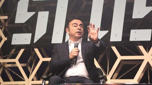 カルロス・ゴーンがSlush Tokyoで語った4つのこと