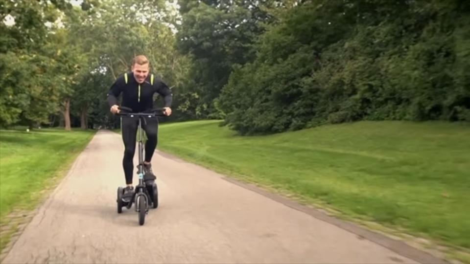 20%OFFの超お得コースのみ!デンマーク生まれのフィットネス自転車「me-mover」のプロジェクトが今日で最終日に