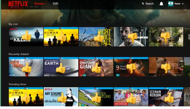 Netflixが5つ星の評価システムを廃止する理由