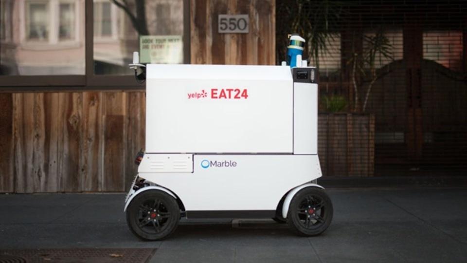 Yelpがサンフランシスコでロボットによるフードデリバリーを開始