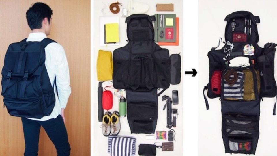 吊るせるって革命。ノマドワーカーの実体験から生まれた大容量バッグパック「CLOSET BAG」が資金調達中