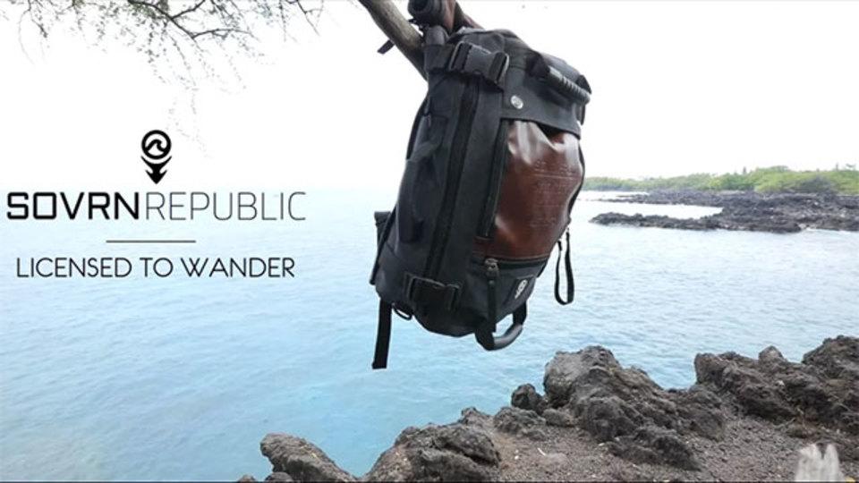 バックパック、メッセンジャーバッグ、手提げカバンの3形態で使える『SOVRN DRIFTER』【今日のライフハックツール】