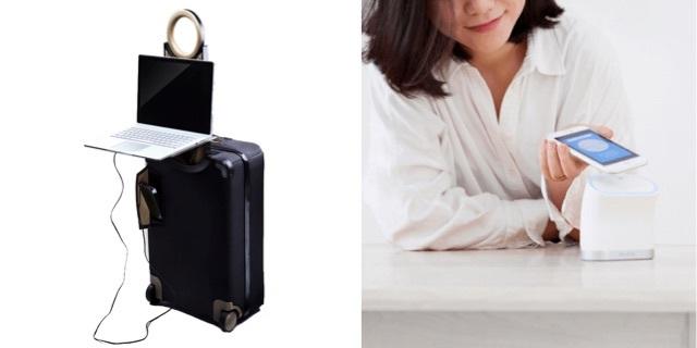 一風変わったWi-Fiルーターとスマートスーツケース、新生活に役立ちそうな2つのアイテムが支援を募集中
