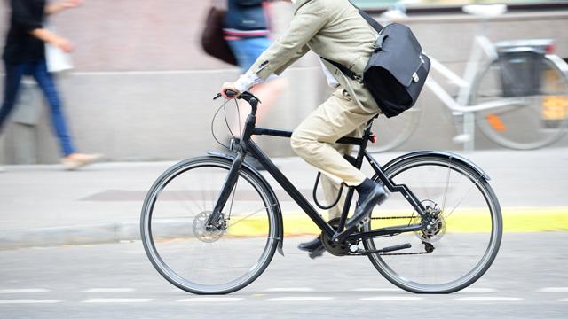 自転車通勤はいい運動になる:調査結果