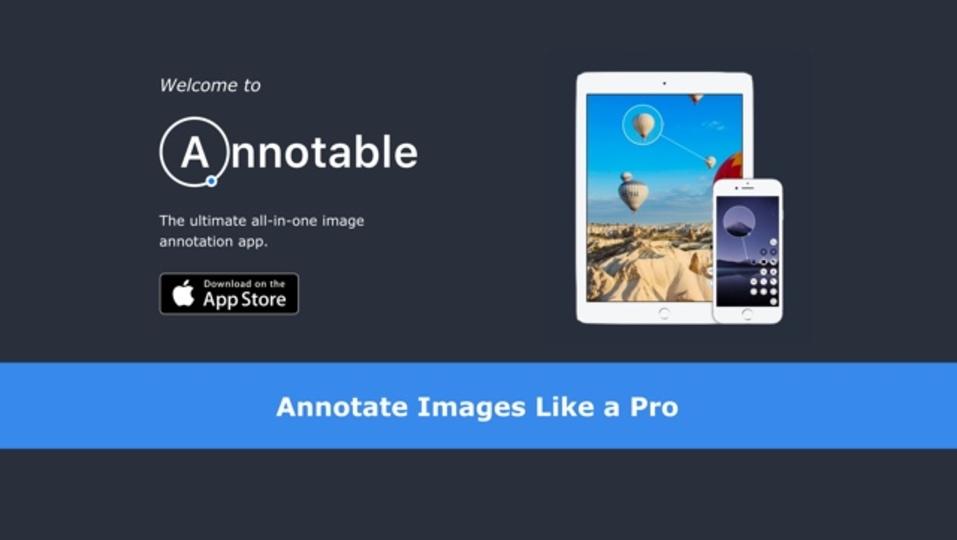 iPhoneで撮影した写真にアノテーションをつけられるアプリ「Annotable」