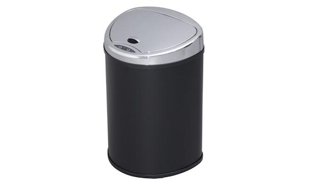 自動開閉で衛生的、どんな部屋にもマッチするスタイリッシュなセンサー付きゴミ箱