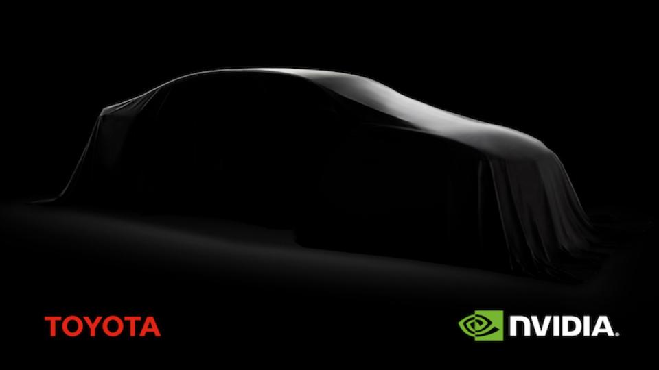 NVIDIAとトヨタ、自動運転技術でコラボを発表